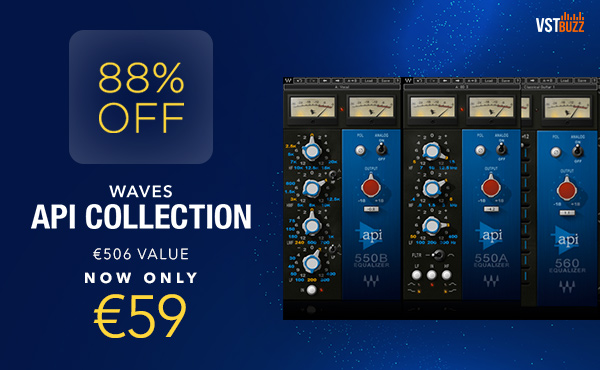 WAVES API COLLECTION VST BUZZ