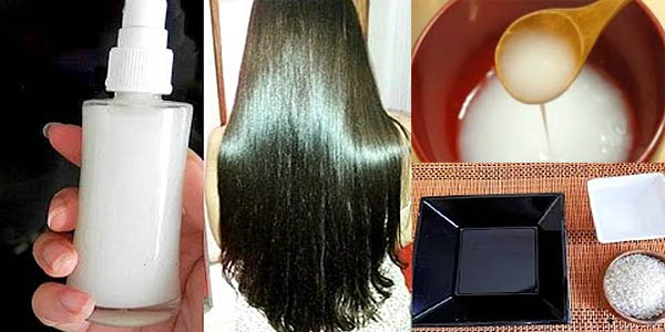 Cómo utilizar el agua del arroz y hacer el pelo más brillante, liso y más largo