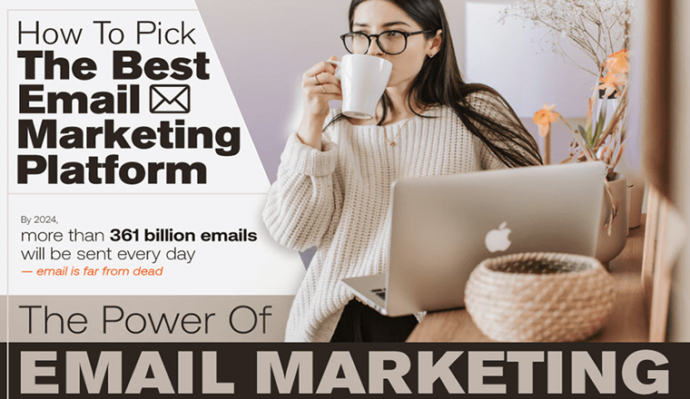7 Best Email Marketing Services for Small Business (2021) #infographic