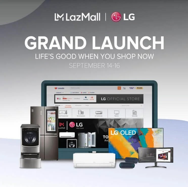 LG Opens Official Store at Lazada