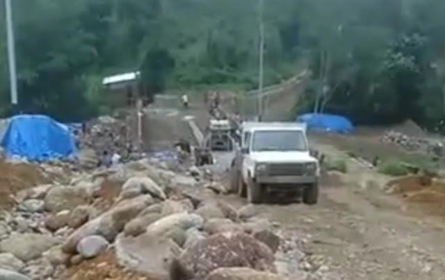 Proyek Jembatan Maek Diduga Sarat KKN