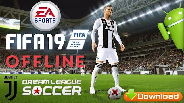 FIFA19 Offline DLS Mod Android APK Game Download