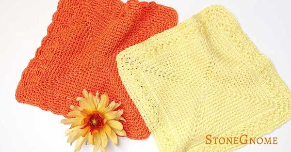 Soft Crochet Washcloths