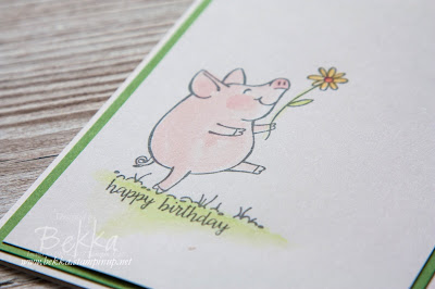 Fast & Fabulous This Little Piggy Birthday Card - buy everything you need to make this card here