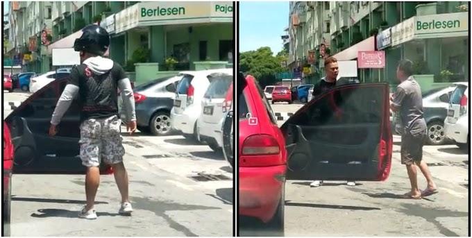 Lelaki dibelasah samseng jalanan gara-gara bunyi hon!