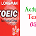 Listening LongMan New Real TOEIC Full Actual Test 03