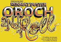 Promoção Renault Duster Oroch Rolling Stones Placa Premiada