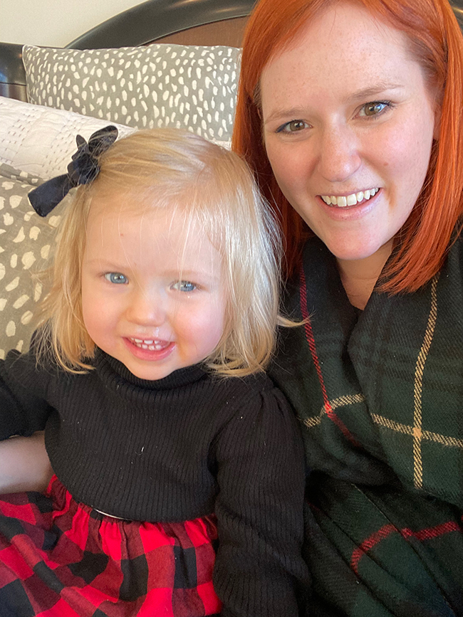 We are all in on matching plaid outfits this year for the holidays. Red and green plaids make really cute coordinating Christmas outfits for mommy and me.