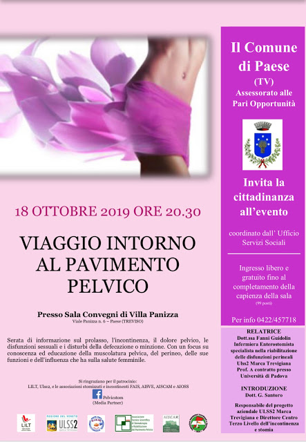 #Pelvicstomintour a PAESE (TV) in Ottobre