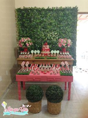 decoração chá de bebê jardim das borboletas