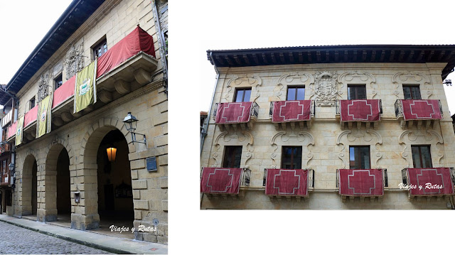 Ayuntamiento y Casa Zuloaga de Hondarribia