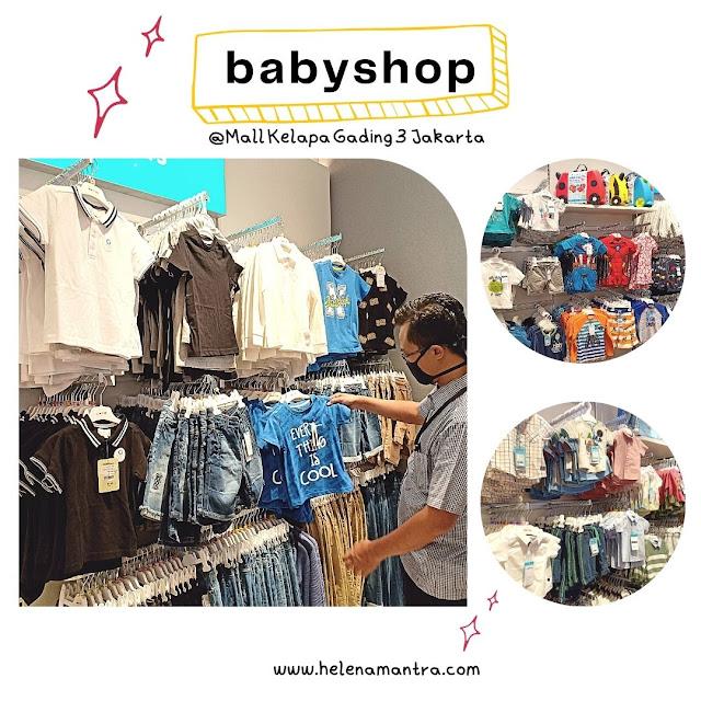 perlengkapan bayi di mall kelapa gading