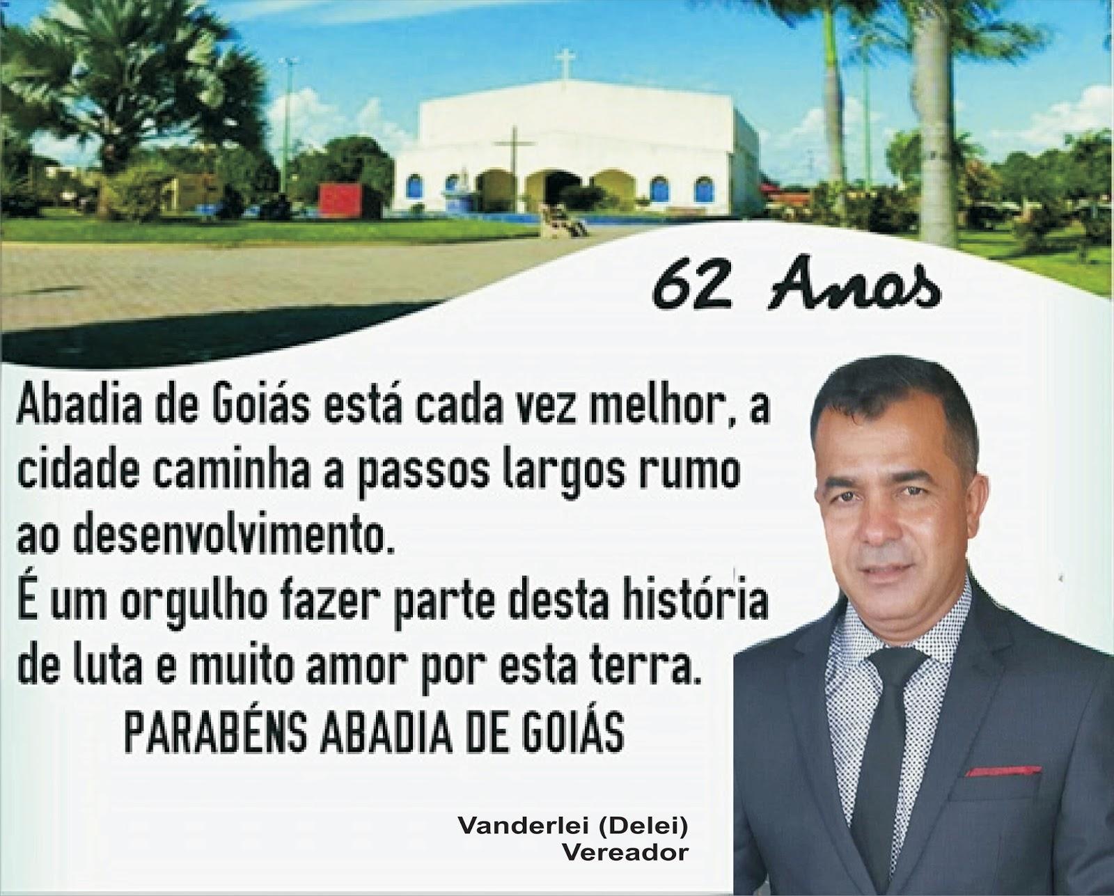 Abadia de Goiás 62 anos de fundação.