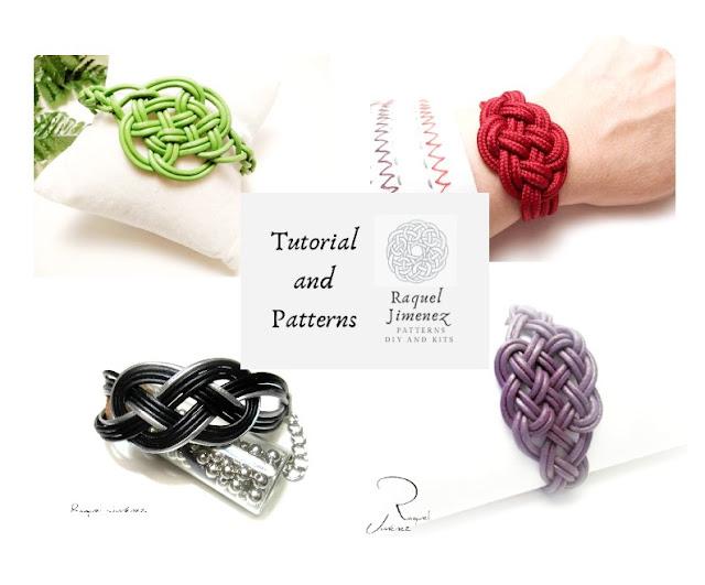 4 patrones para hacer pulseras de nudos