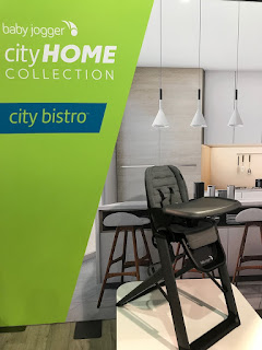 the City Home collection Baby Jogger highchair, City Bistro
