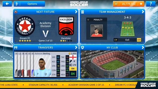 Download Dream League Soccer 2019 Mod Apk V6 03: Dream League Soccer 2019 Apk V6.05 Mod + OBB Unlimited