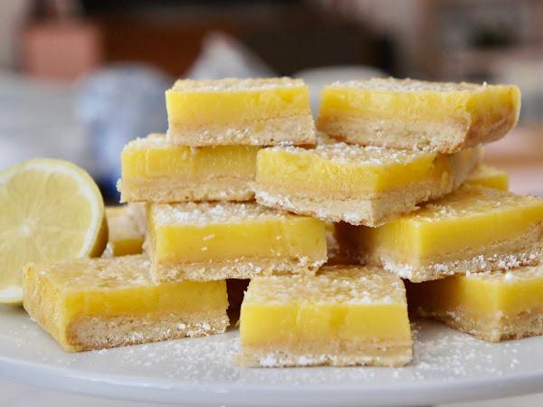 REZEPT: glutenfreie Zitronenschnitten
