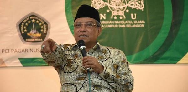 Said Aqil Minta Jokowi-Maruf Mengentasakan Kemiskinan Akibat Pandemi Lewat ini