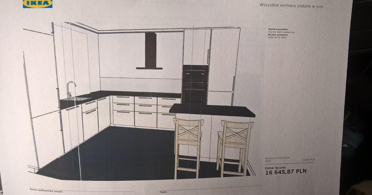 rawena2dobredomy: projekt kuchni IKEA