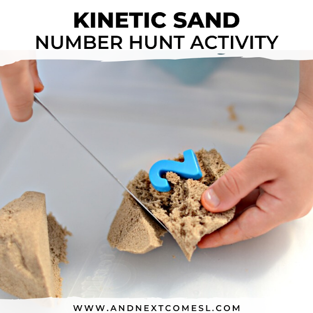 Kinetic sand activity