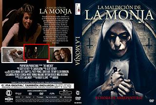 The Bad Nun - La Maldicion de la Monja - Cover DVD
