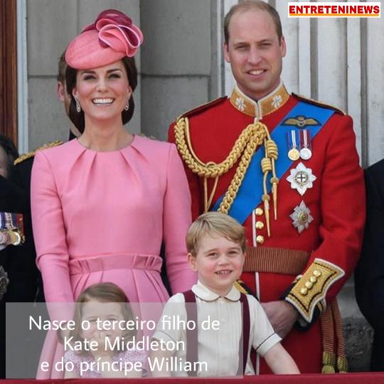 nasce o terceiro filho de kate middleton e do principe william entreteninews blogger