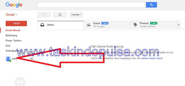 Cara Transaksi Pulsa Via Hangouts Taskindo Pulsa