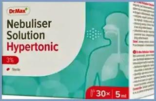 Dr.Max Solutie hipertonica 3% pentru nebulizare pareri forum tratament bronsita