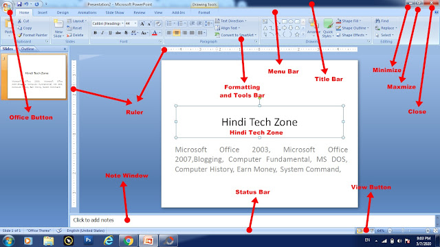 Microsoft PowerPoint 2007 Complete Information