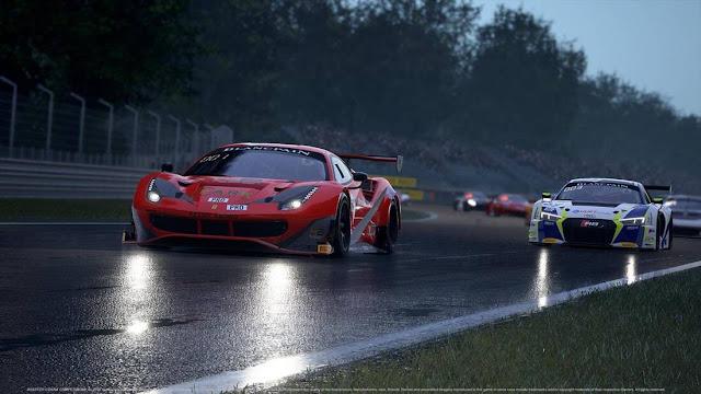 Imagem do Assetto Corsa Competizione