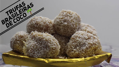 Trufas Brasileñas o Brasileiras de coco
