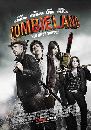 Zombieland 2009 BRRip 720p Dual Audio In Hindi English