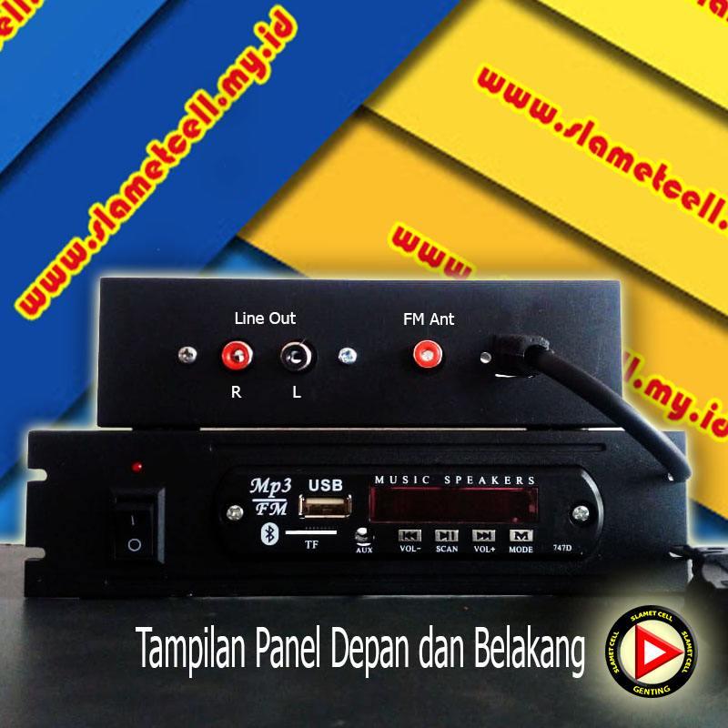 MP3 Player Bluetooth Input Tegangan 220 VAC