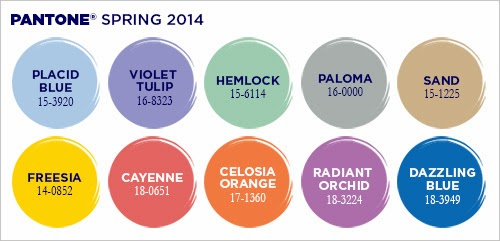 Color trend spring 2014