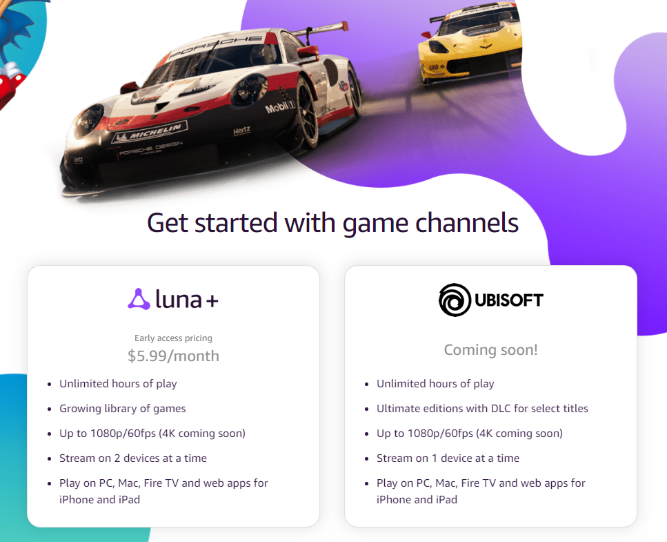 Amazon Set Up Cloud Gaming Service – Luna