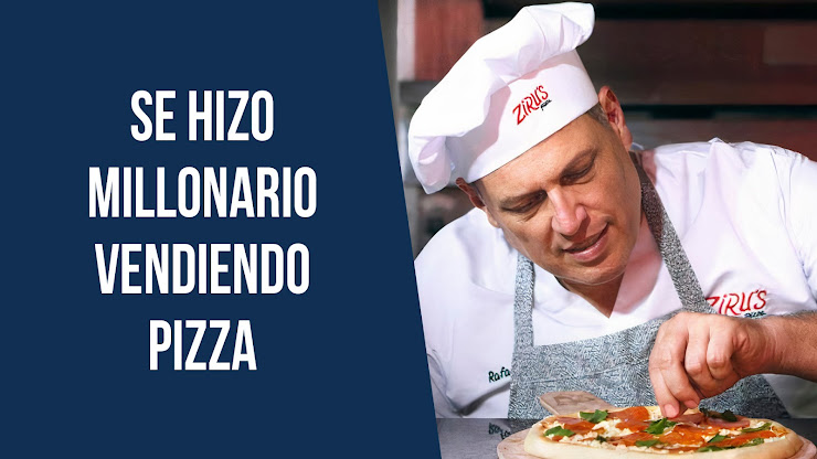 La historia de Rafael Mendoza, fundador de Zirus Pizza