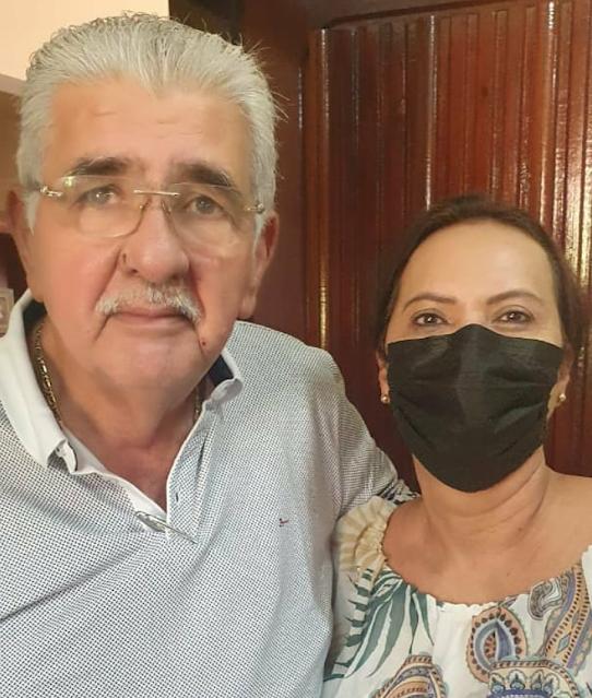 Vereadora Carmelia da Mata parabeniza ex-prefeito Antônio Henrique pelo seu aniversário neste domingo.