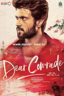 Dear Comrade (2019) WEB-DL 720p Dual Audio  In Hindi Telugu