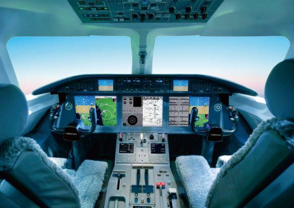 Gulfstream G280 cockpit
