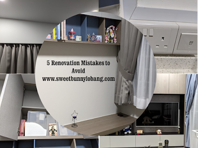 5 renovation mistakes to avoid