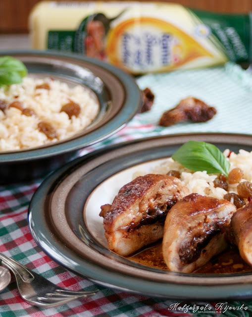 kurczak z suszonymi pomidorami, sos z octem balsamicznym, obiad, daylicooking