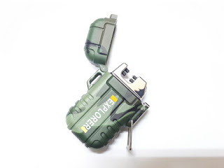 Arc 006 Metal Dual Plasma Lighter Waterproof