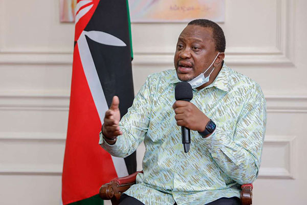 """Wewe Wacha Ujeuri!"" Uhuru tells Githeri Journalist who Pressed Him"