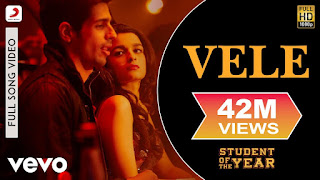 Vele - Student of The Year Full HD Video