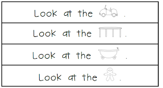 Fluency can begin with our earliest readers.  Picture support and sight word practice can provide lots of fluency practice.