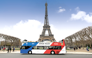 get around Paris by bus direct