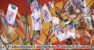 Tradisi Bungo Lado di Kota Padang Pariaman merupakan salah satu tradisi unik di Indonesia yang dilakukan untuk menyambut maulid nabi