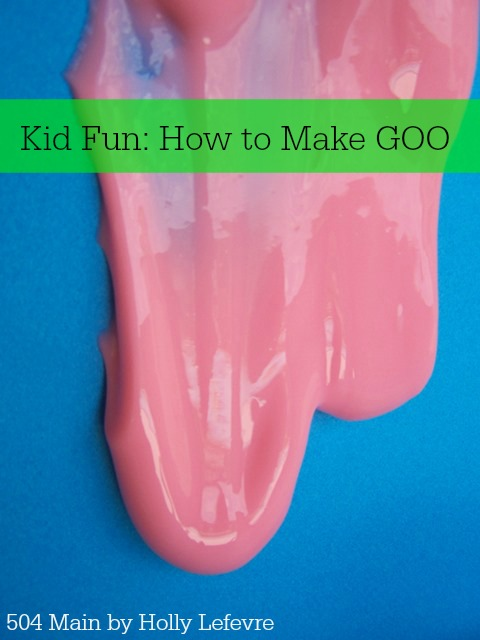 Goo, goop, slime whatever you call it, call it fun!