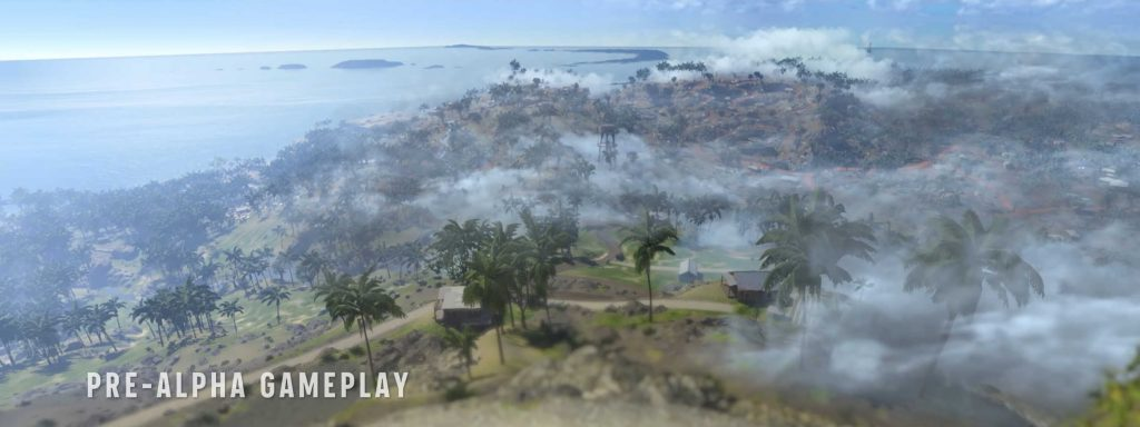 The setting with the best view of the whole map so far.