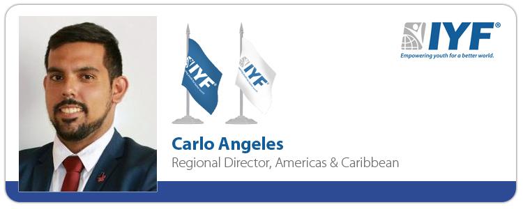 Carlo Angeles, IYF Regional Director, Americas & Caribbean
